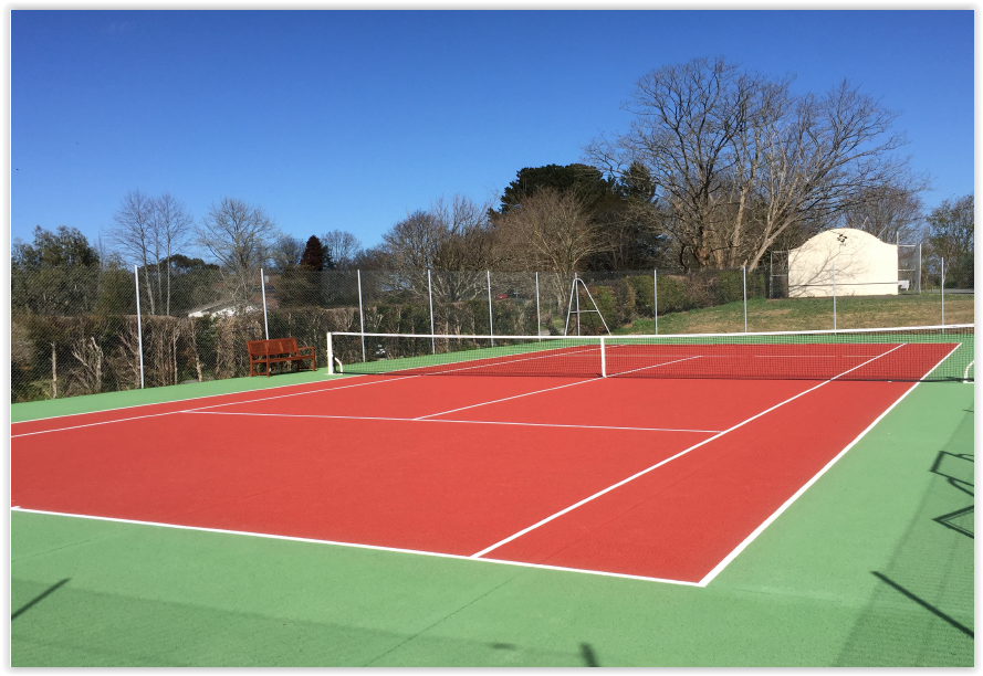 Un court de tennis arbonne mairie d 39 arbonne for Revetement court de tennis