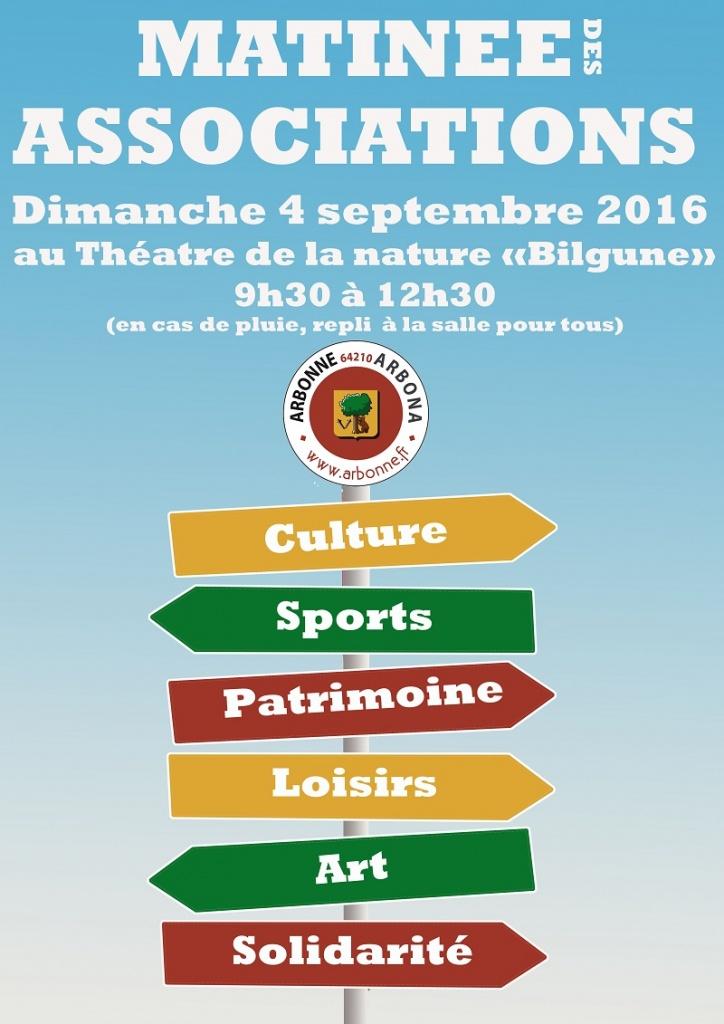 Matinee-associations 2016