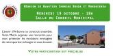 Mercredi 19 Octobre 18 h  Salle du Conseil Municipal